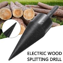 1pc 38mm Kindling Firewood Splitter Drill Bit Firewood Split Drill Bit SDS Plus Shank For Hammer Drill Household Machine