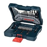 Bosch 33-Piece Twist Drill Combination Metal Drill Bit Masonry Drill Bit Woodworking Drill Bit Screwdriver Head Mixed Set