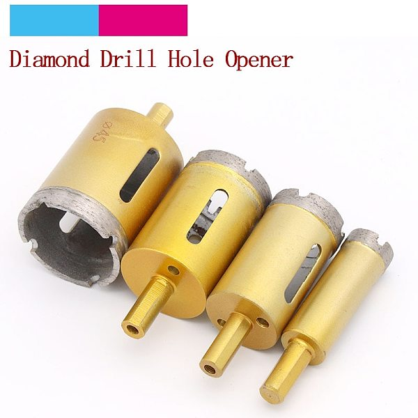 1pcs 6mm-65mm Diamond Coated Drilling Bits Hole Opener SawHole Cutter For Stone Ceramic Marble Tile Glass Power Tools