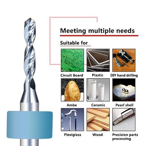 10pcs 1.8mm Import Carbide Drill Bit Micro PCB Circuit Board Drill Bit Mini Gun Drill Bit