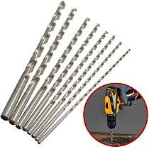1Pc Extra Long HSS Twist Drill Bits High Speed Steel Drill Bit Set Power Drilling Tools for Metal Wood 2mm/3mm/4mm/5mm/6mm