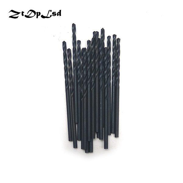 ZtDpLsd 20Pcs 2mm Metal Drilling HSS Twist Drill Bits High Speed Steel Electric Drilliing Power Craft Wood WoodWork Hand Tool
