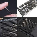 31pcs Mini Micro Aluminum Hand Drill With Keyless Chuck Woodworking Drilling Hand Drill Rotary Tools HSS Twist Drill Bit