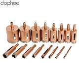dophee Tools 6-20mm Diamond Coated Core Metal Hole Saw Drill Bits For Tiles Marble Glass Granite Drilling Cutter Instruments 1PC