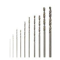 10Pcs HSS High Speed White Steel Twist Drill Bit Set For Dremel Rotary Tool New R9JC