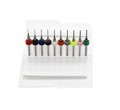 0.3-1.2mm Print Circuit Board Drill Bits, Carbide Micro Drill Bits, CNC PCB Twist Drill