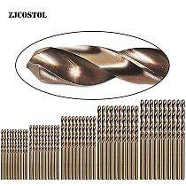 ZJCOSTOL 50pcs/Set Cobalt M35 Drill Bit Twist Stainless Steel Special Drill High Speed Steel Metal Hole Drill Bit 1mm-3mm