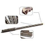 SDS Plus Electric Hammer Drill Bit Cross Type Reinforced Tungsten Steel Cemented Carbide Drill Bits Concrete Drill
