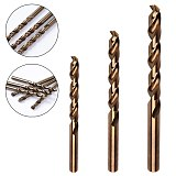 New 1mm 1.5mm 2mm HSS-CO M35 Cobalt Steel Straight Shank Twist Drill Bits For Stainless Steel/Metal/Aluminum/Copper/Plastic/Wood