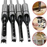 1PCS HSS Square Hole Drill Bit Twist Mortising Chisel Drill Set Woodworking Square Hole Drill Wood Drilling Hand Tools