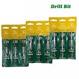 9PCS/Set Electric Hammer SDS Plus Drill Bits Set 110mm Concrete Wall Brick Block Masonry Hole Saw Drilling 4mm 5mm 6mm