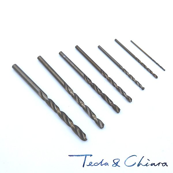 10 10.1 10.2 10.3 10.4 10.5 10.6 10.7 10.8 10.9 mm HSS-CO M35 Cobalt Steel Straight Shank Twist Drill Bits For Stainless Steel