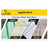 LAVIE 7pcs 3/4/5/6/8/10/12mm Multi-functional Glass Drill Bit Triangle Drill Bits For Ceramic Tile Concrete Glass Marble DB02061
