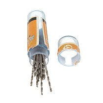 10pcs 0.5/0.6/0.7/0.8/0.9mm Micro Wear Resistance Straight Shank Twists HSS High Speed Steel Metric Drill Bits Rotary Power Tool