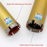 MX 370mm length water Drill bits 18-76mm diameter concrete diamond air conditioner hole opener cobblestone wall hood drill bits