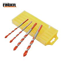 5PCS Multifunctional Alloy Ceramic Wall Drill Bit Set Anti-skid Triangle Shank Hole Center Opener For Tile Glass Brick Wall Wood