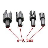 8pcs Wood Plug Cutter Cutting Tool Woodwork Plug Cutting Drill Bit Set Claw Cork Drill 5/8  1/2  3/8  1/4