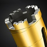 Diamond Drill Bit Concrete Perforator Core Drill For Installation For Air Conditioner Pipe Hole Water Supply And Drainage M22