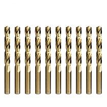 1.0-13mm Cobalt Coated Twist Drill Bit Set HSS M35 Gun Drill Bit For Wood/Metal Hole Cutter Power Tools