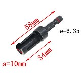 Hot 4pcs Plug Cutter Drill Bit Set Hex Shank Round Carbon Steel Drill Woodworking Wood Cutting Tool Set Drilling Pilot Holes
