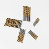 PROSTORMER 50Pcs/Set Twist Drill Bit Set Saw Set HSS High Steel Titanium Coated Drill Woodworking Wood Tool 1/1.5/2/2.5/3mm