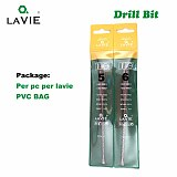 LA VIE 5pcs/set SDS PLUS Shank Hammer Impact Drill Bit Slot Tip 4 5 6 8mm Electric Hammer Drill Bits Rotary Concrete Masonry 012