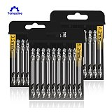 10Pcs 3.2mm 4.2mm 5.2mm HSS Double Ended Spiral Torsion Double Ended Drills Bits Wood/ Metal Working Tool