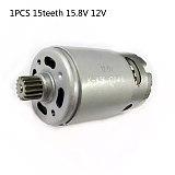 Spare Motor GSR 1080-2-Li GSR1080-2-LI Electric Drill 15 Teeth Gear Motor Home Garden Supplies