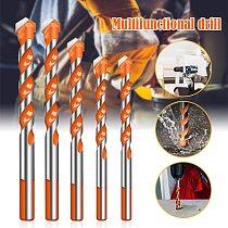 Spot Ultimate Drill Bits Twist Drill Head Wall Ceramic Glass Punching Hole Working Set Alloy Drill Bit Kit Home Tool VJ-Drop