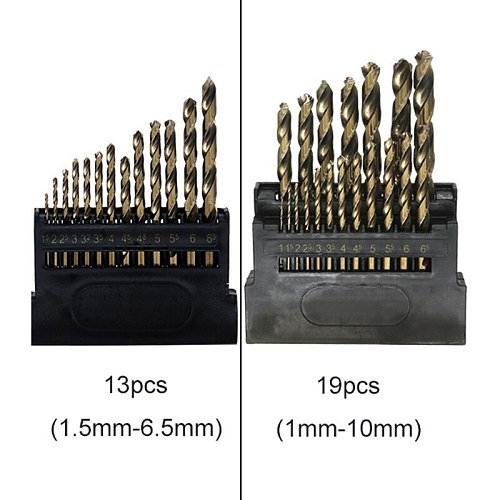 Drill Bit Set M42 HSS Contain 8% Metal Cobalt For Copper Iron Aluminum woodworking Stainless Steel Drilling Core Twist Drill Bit