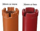 M22 Thread Drill Bit Concrete Hole Opener Diamond Concrete Core Through The Wall Water Drill taladro punte trapano