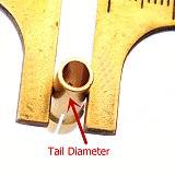 8Pcs Brass Mini Drill Chucks Collet Bits Fit Rotary Tools 1mm/1.6mm/2.3mm/3.2mm for Dremel Rotary Tool Accessories High Quality