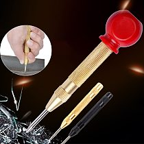 Drill Bit Tools Power Tools Drill Automatic Center Pin Punch Spring Loaded Marking Starting Holes Tool Center Punch