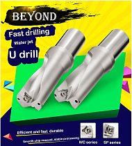 BEYOND Drill 2D 3D 4D 5D 13MM-40MM Bit U Drilling Indexable Carbide Inserts Tools CNC Lathe 13 14 15 16 17 18 19 20 21 22 23 24