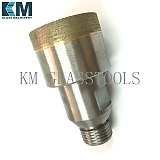 Free Shipping! Diameter 3mm~150mm,Sintered Diamond core drill bit,Belgium thread Mount-YG 1/2''.Glass drilling machine