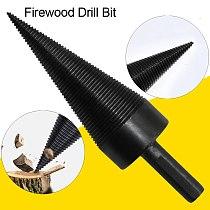 38mm 45mm Hex Shank Firewood Drill Bit Woodworking Tools Splitter Firewood Split Drill for Firewood Machine Wood Chop Breaker