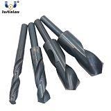 JUSTINLAU HSS 4241 High Speed Steel Twist Drill Bit Black 1/2 Straight Shank 17/17.5/18/18.5/19/19.5/20/20.5mm