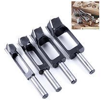 High Speed Steel Dowel Plug Cutter Tenon Drill Bit Wood Working Furniture Making Carpentry Tool