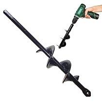9Inch Garden Auger Spiral Drill Bit Hand Drill Electric Drill Ground Bit