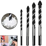 Ceramic Tile Opener Multifunctional 6-12mm Glass Drill Bit Twist Spade Drill Triangle Bits For Concrete Marble