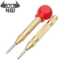 DANIU 6mm Automatic Center Pin Automatic Center Pin Punch Spring Loaded Marking Drilling Starting Holes Tool Steel