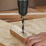 WORKPRO 43PC Drill Bits Set for Concrete Brick Wood Glass Ceramic Tile Plastic