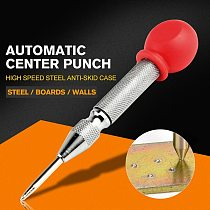 1Pcs HSS Center Punch Stator punching Automatic Center Pin Punch Spring Loaded Marking Drilling Tool With A Protective Sleeve-