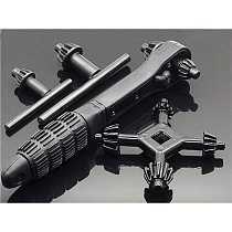 1PC Wrench Mini Universal Multi-function Hand Drill Key Chuck Drill Electric Hand Drill Chuck Ratchet Wrench Tool Accessories