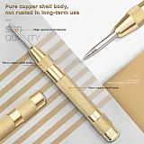 New Arrival 5-inch Automatic Center Pin Spring Loaded Mark Center Punch Tool Wood indentation Mark Woodworking Tool Bit