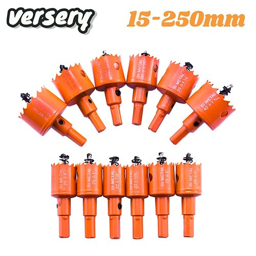 Free Shipping 15-200mm M42 Bi-Metal Hole Saw Woodworking Drill Bits for Aluminum Iron Wood Stainless Steel Cutter Opener Tools