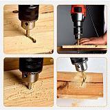 6pcs/set 3-8mm Cobalt Drill Bit Set HSS High Drill Bit Saw Set Metal Wood Drilling Hole tools Drill Titanium Coated Woodworking