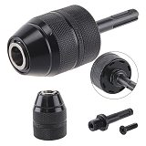 Keyless Drill Chuck Adapter, 2-1m 1/2-20UNF Mount Heavy Duty Professional Converter Tool with SDS Plus Shank Adaptor