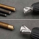 1*Deburring External Chamfer Tool Silver Hex shank deburring external chamfer tool