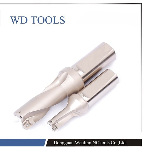 SP Indexable Insert drill 3D 14-50 mm SP U Drill Type CNC Indexable Insert Drills Lathe Metal Cutter Tool CNC drills